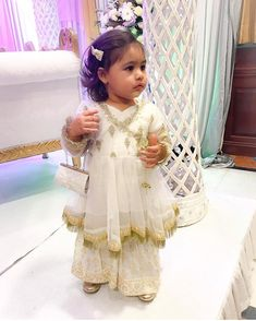 Image may contain: 1 person, standing You are in the right place about baby dress patterns indian He Cute Baby Dresses, Wedding Dresses For Kids, Kids Outfits Girls, Little Girl Dresses, Party Dresses, Bridal Dresses, Baby Dress Design, Baby Girl Dress Patterns, Frocks For Girls