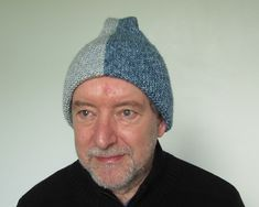 Conjoined Möbius Hat - Free pattern by Woolly Thoughts. Klein bottle hat.