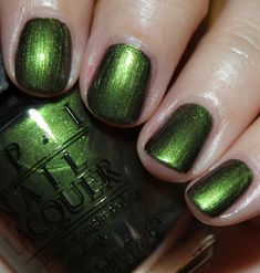 OPI Green on the Runway-Coca Cola Collection