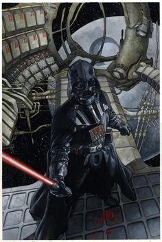 Star Wars - Darth Vader #2 preliminary variant cover by Simone Bianchi *
