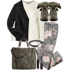 """Malia Inspired Affordable School Outfit"" by veterization on Polyvore"