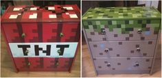 Imagine walking into a shop and finding these Minecraft products for sale, only thing is, they aren't for sale, and they are one of a kind. Minecraft Room Decor, Minecraft Bedroom, Minecraft Party, Minecraft Stampy, Minecraft Ideas, Tdm Minecraft, Minecraft Redstone Tutorial, Minecraft Decorations, Minecraft Crafts