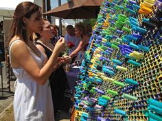 Fine Arts' Wishing Wall project a hit in community - OTC News & Information