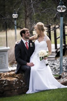 Abby and Cody - photo credit R. Becker Creative. . . #BlackHillsReceptions