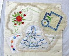 Julia's Place: Laura's Doily Quilt...and Anne's Gorgeous Quilt.