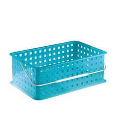 Take a look at this Azure 14'' Spa Shower Basket by InterDesign on #zulily today!