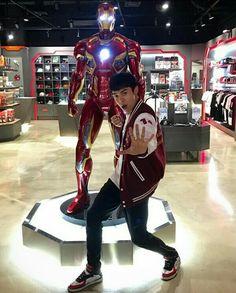 Iron Man, Superstar, Deadpool, Asian Girl, Superhero, Boys, Fictional Characters, Asia Girl, Baby Boys