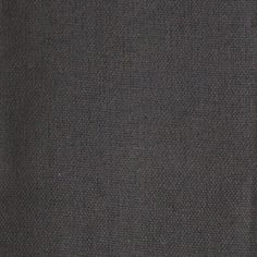 Linen/Cotton Blend: Charcoal Grey - Plain solid fabric. Available by the half metre.
