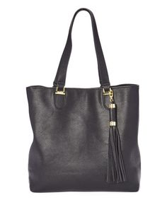 Another great find on #zulily! Black Saylor Tote Bag #zulilyfinds
