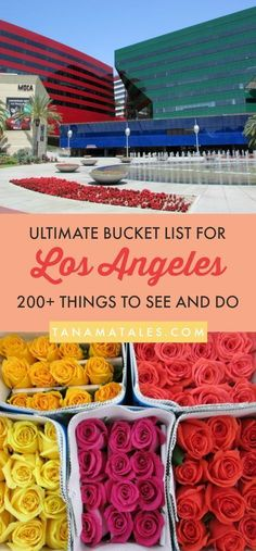 200+ Things to see, do and eat in Los Angeles, #California – Travel and Vacation Tips / Ideas – Here is my ultimate bucket list for Los Angeles. These are my top choices for attractions, restaurants, beaches, viewpoints, getaways and much more! From Downtown to Santa Monica, recommendations from a 14+ resident!