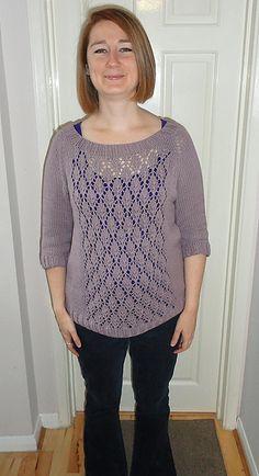 Ravelry: Not Your Boyfriend's Sweater pattern by Vera Sanon