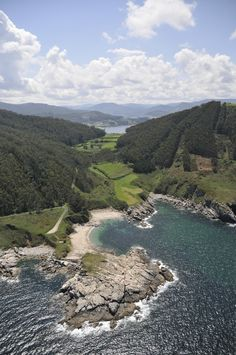 Playa de Portonovo. Viveiro. (Lugo). Galicia. Spain. Beautiful Sites, Beautiful Places In The World, Sea Photography, Travel Photography, Travel Around The World, Around The Worlds, Places To Travel, Places To Go, Portugal