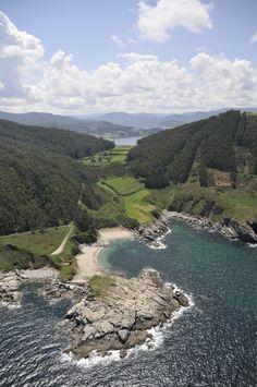 Playa de Portonovo. Viveiro. (Lugo). Galicia. Spain.