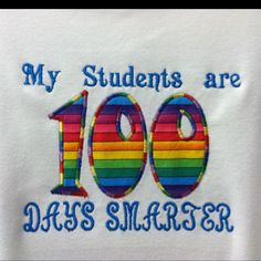 100 Days of school (and one giant step closer to insanity!) t-shirt for teachers.
