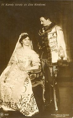 Charles IV of Hungary and Zita, Queen of Hungary.