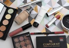 First impressions of Primark PS PRO makeup. Makeup flatlay, flatlay of makeup. Primark makeup first impressions and Primark beauty range. Primark Makeup, My Beauty, Hair Beauty, Makeup Swatches, Dark Shades, Kit, Lifestyle Blog, Sculpting, Eyeshadow