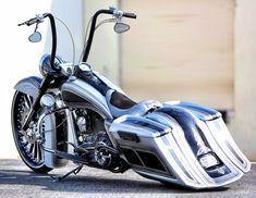 Harlery Davidson Custom Bagger   #Bagger #CUSTOM #Harlery Davidson