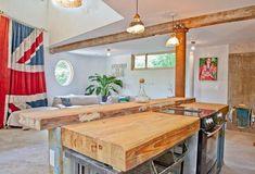 дерева кухонные столешницы и островные конструкции