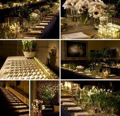 7 Designer Wedding Themes With Steal-Worthy Details - MODwedding Flower Decorations, Wedding Decorations, Table Decorations, Mod Wedding, Chic Wedding, Gray Weddings, Unique Weddings, Wedding Themes, Wedding Designs