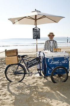 1940's ice cream bike