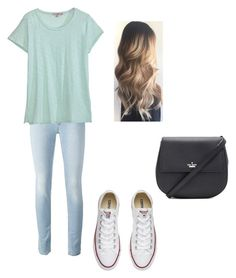 """""""school"""" by daisydoo1604 on Polyvore featuring Calypso St. Barth, Converse and Kate Spade"""