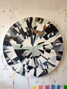Abstract Diamond artwork by Kurt Pio of Cape Town, South Africa.