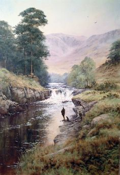 Salmon Fishing in Scotland by Joe Hush