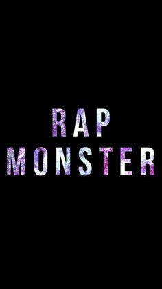 RAP MONSTER BACKGROUND