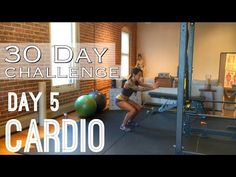 Day 5: Tabata Cardio - Betty Rocker 30 Day Bodyweight Challenge - YouTube