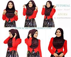 What is best way to wear the headscarf? How way of wearing scarf to not too tight in neck area and head? Here we provide some ti. Pashmina Hijab Tutorial, Scarf Tutorial, Hijab Bride, Pakistani Wedding Dresses, Wedding Hijab, Simple Hijab Tutorial, Turban Hijab, Hijab Fashion Inspiration, Turban Style