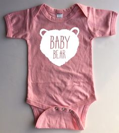 Papa Bear and Baby Bear Tees | Perfect Gift for Father's Day