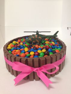Helicopter Cake - but would make a landing pad on top