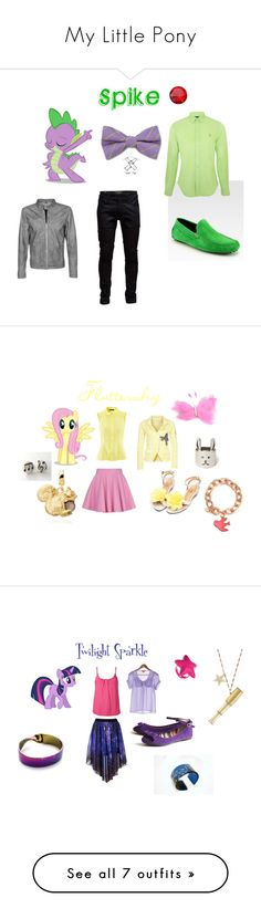 """My Little Pony"" by kitkat859 ❤ liked on Polyvore featuring My Little Pony, Jack & Jones, To Boot New York, Polo Ralph Lauren, Goosecraft, Music Notes, Odd Molly, Olympia Le-Tan, H&M and Lane172"