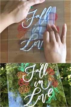 Fall Decor with Adhesive Vinyl ❤️🍂 This is a throwback project from last year by the talented Made with: ⭐️ Kassa Vinyl Sheets Pack) ⭐️ Kassa Transfer Tape crafts artsandcrafts cricut 452400725070181716 Tape Crafts, Vinyl Crafts, Vinyl Projects, Craft Projects, Cricut Craft Room, Cricut Vinyl, Bullet Journal Lettering Ideas, Paper Flowers Craft, Vinyl Sheets