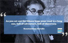 kavafis ithaca poet poem