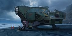 ArtStation - spaceship, Guodong Zhao