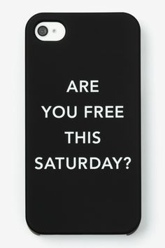Kate Spade Saturday iPhone 5 Case, $25, available at saturday.com