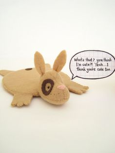 Rabbit Coaster Spotted Tan by dandyrions on Etsy, $16.00
