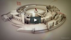 This animation is an exercise to explore whit 3D and typography. We used a 3d model of this beautiful building (made by Andrea Stinga), and make a simple animation…