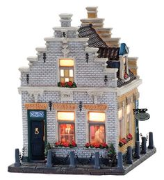 Christmas Village Display, Seaside Village, Ceramic Houses, Christmas Mood, Mansions, Architecture, House Styles, Winter Cards, Mini Gardens