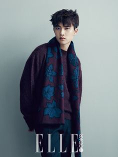 In the December issue of ELLE Magazine, EXO member and up-and-coming actor D.O (Do Kyung Soo) appeared in a fashion shoot wherein he showed his quiet and mysterious side. Wearing knits that fit the winter season, D.O exuded his gentle charisma in the photos wherein he had a pensive look on his face....