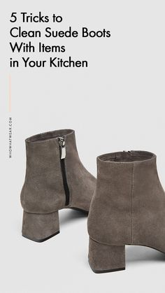 How To Clean Suede Boots Suade Do You