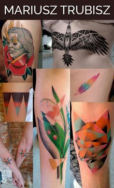 Mariusz Trubisz in Wroclaw, Poland / The 13 Coolest Tattoo Artists In The World (via BuzzFeed)