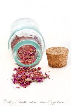 Polverine magiche #3: composto aromatico di spezie fiori e frutta  per dolci homemade