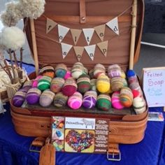 Felted Soap Craft Show Display