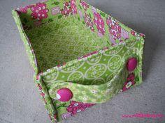 Ms. Elaineous Teaches Sewing: Stash Baskets