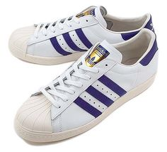 adidas Originals SS 80s [RUNNING WHITE/BLAST PURPLE/CHALK] (G95851)