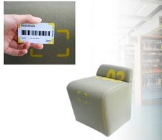 RFID Robotic Chair Follows You Around For Constant Seating