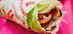 Eating Out Keto- For ketogenic dieters on the go or the road. Pictured: Jimmy John's Unwich