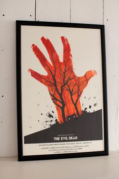 The Evil Dead by Olly Moss
